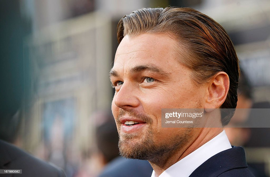 Actor <a gi-track='captionPersonalityLinkClicked' href=/galleries/search?phrase=Leonardo+DiCaprio&family=editorial&specificpeople=201635 ng-click='$event.stopPropagation()'>Leonardo DiCaprio</a> attends the 'The Great Gatsby' world premiere at Avery Fisher Hall at Lincoln Center for the Performing Arts on May 1, 2013 in New York City.