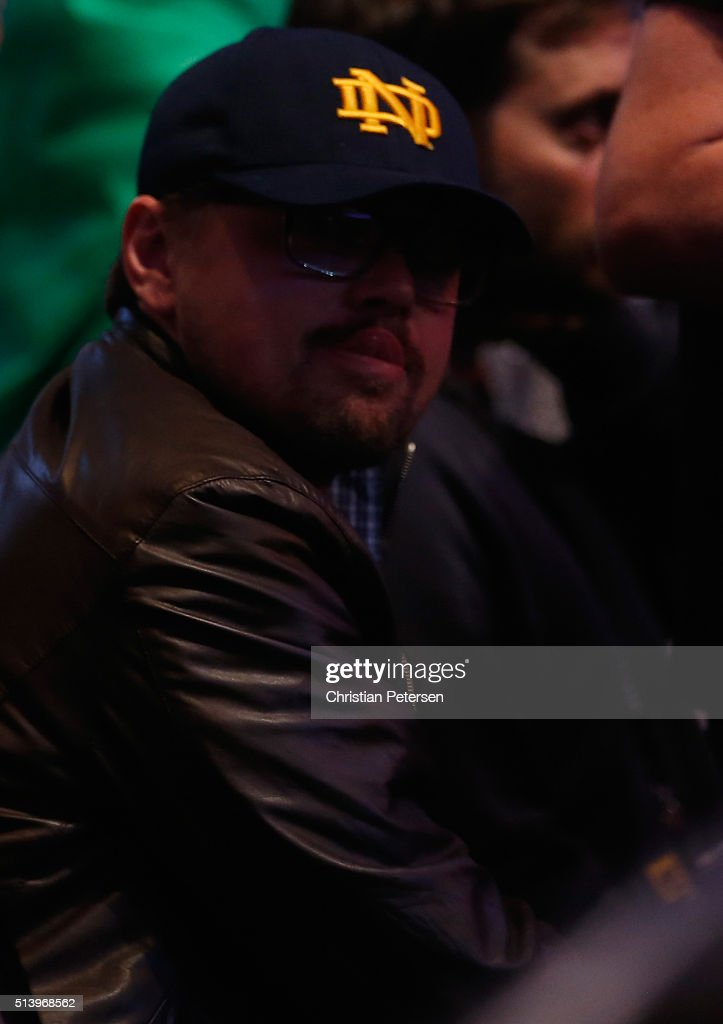 Candids (2016) Actor-leonardo-dicaprio-in-attendance-during-the-ufc-196-event-inside-picture-id513968562
