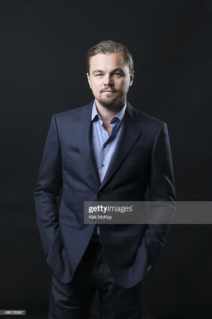 Actor <a gi-track='captionPersonalityLinkClicked' href=/galleries/search?phrase=Leonardo+DiCaprio&family=editorial&specificpeople=201635 ng-click='$event.stopPropagation()'>Leonardo DiCaprio</a> is photographed for Los Angeles Times on January 23, 2014 in Los Angeles, California. PUBLISHED IMAGE.