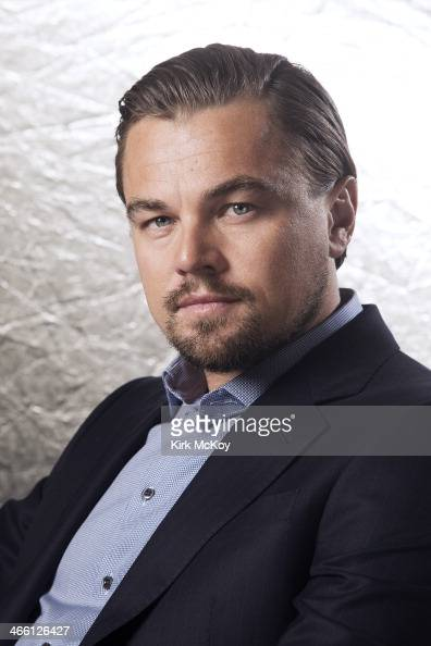Actor Leonardo DiCaprio is photographed for Los Angeles Times on January 23 2014 in Los Angeles California PUBLISHED IMAGE CREDIT MUST BE Kirk...