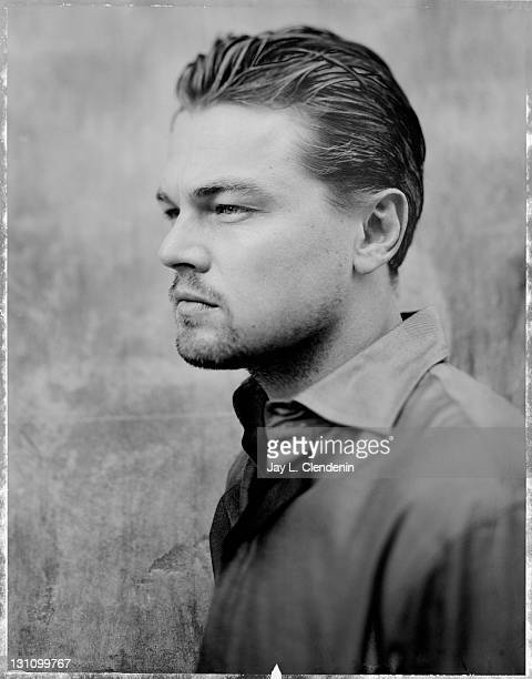 Actor Leonardo DiCaprio is photographed for the Los Angeles Times in Los Angeles United States Published image CREDIT MUST READ Jay L Clendenin/Los...