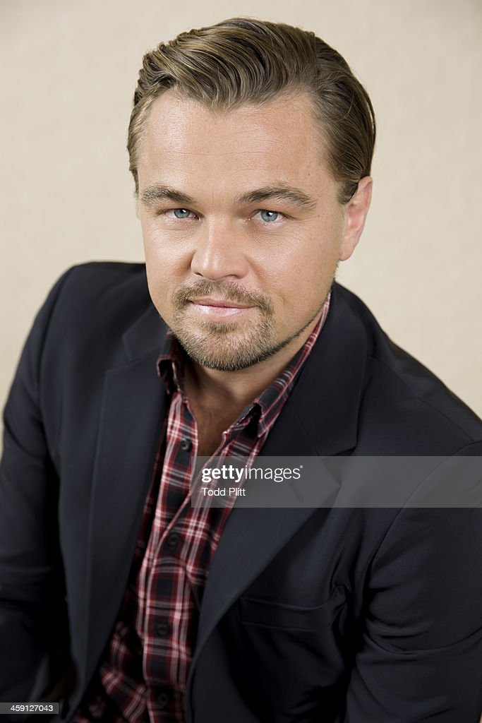Actor <a gi-track='captionPersonalityLinkClicked' href=/galleries/search?phrase=Leonardo+DiCaprio&family=editorial&specificpeople=201635 ng-click='$event.stopPropagation()'>Leonardo DiCaprio</a> is photographed for USA Today on December 2, 2013 in New York City.