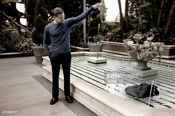 Actor Leonardo DiCaprio is photographed for Variety on January 23 2014 in Beverly Hills California ON DOMESTIC EMBARGO UNTIL MARCH 11 2014 ON...