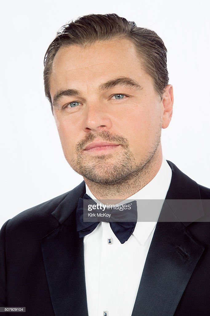 Actor <a gi-track='captionPersonalityLinkClicked' href=/galleries/search?phrase=Leonardo+DiCaprio&family=editorial&specificpeople=201635 ng-click='$event.stopPropagation()'>Leonardo DiCaprio</a> poses for a portraits at the 22st Annual Screen Actors Guild Awards for Los Angeles Times on January 30, 2016 in Los Angeles, California. PUBLISHED IMAGE.
