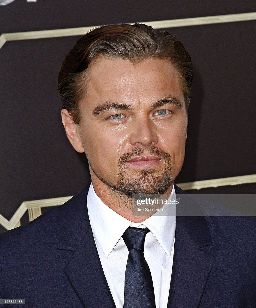 Actor <a gi-track='captionPersonalityLinkClicked' href=/galleries/search?phrase=Leonardo+DiCaprio&family=editorial&specificpeople=201635 ng-click='$event.stopPropagation()'>Leonardo DiCaprio</a> ttends the 'The Great Gatsby' world premiere at Avery Fisher Hall at Lincoln Center for the Performing Arts on May 1, 2013 in New York City.