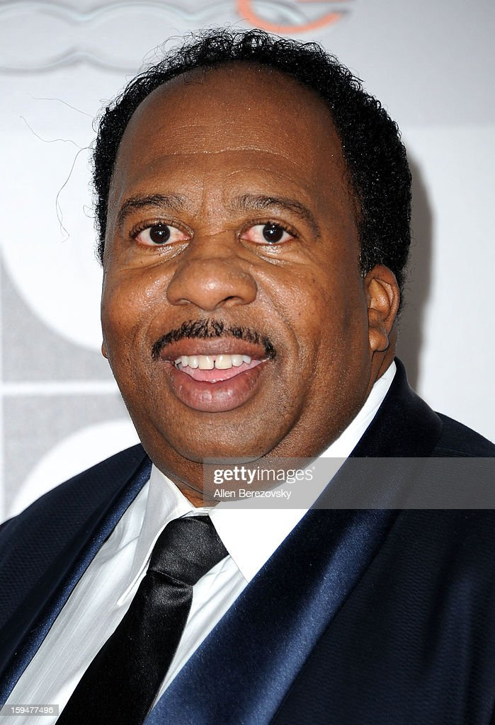 Actor Leslie David Baker arrives at the NBC Universal's 70th annual Golden Globe Awards after party on January 13, 2013 in Beverly Hills, California.