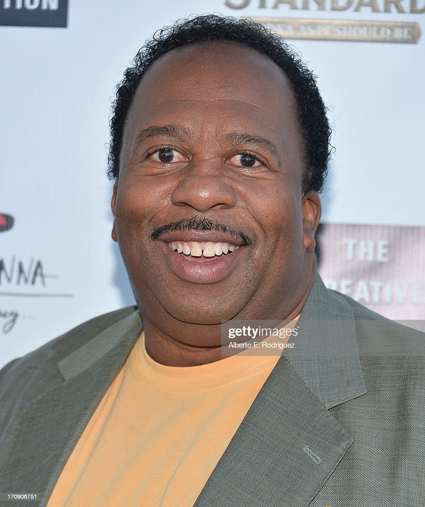 Actor <a gi-track='captionPersonalityLinkClicked' href=/galleries/search?phrase=Leslie+David+Baker&family=editorial&specificpeople=841061 ng-click='$event.stopPropagation()'>Leslie David Baker</a> attends The Creative Coalition's 2013 Summer Soiree at Mari Vanna Los Angeles on June 19, 2013 in West Hollywood, California.