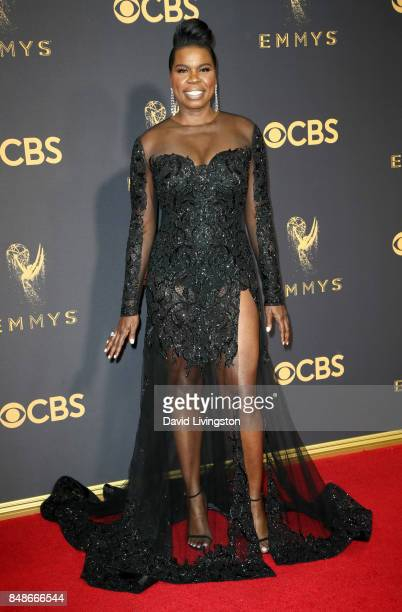 Actor Leslie Jones attends the 69th Annual Primetime Emmy Awards at Microsoft Theater on September 17 2017 in Los Angeles California
