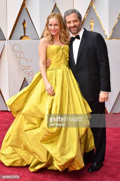 Actor Leslie Mann and director Judd Apatow attend the 89th Annual Academy Awards at Hollywood Highland Center on February 26 2017 in Hollywood...