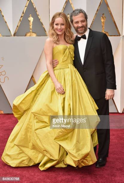 Actor Leslie Mann and filmmaker Judd Apatow attend the 89th Annual Academy Awards at Hollywood Highland Center on February 26 2017 in Hollywood...