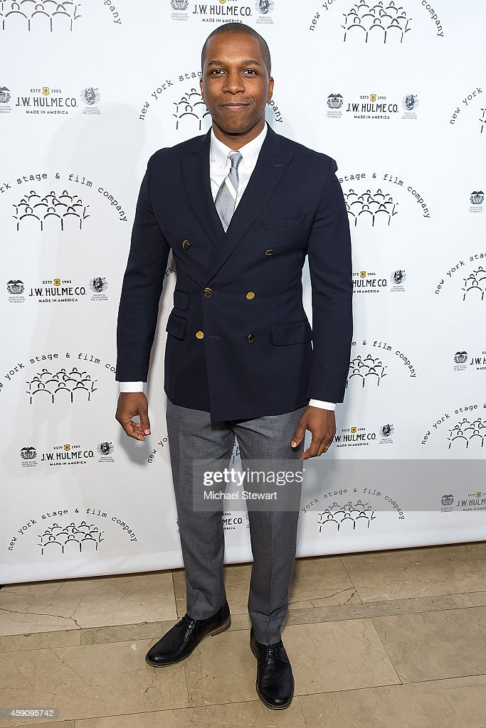 Actor Leslie Odom Jr. attends the 2014 New York Stage And Film Winter Gala at The Plaza Hotel on November 16, 2014 in New York City.