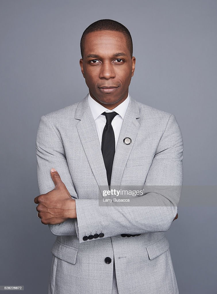 Actor <a gi-track='captionPersonalityLinkClicked' href=/galleries/search?phrase=Leslie+Odom&family=editorial&specificpeople=9133547 ng-click='$event.stopPropagation()'>Leslie Odom</a> Jr. poses for a portrait at the 2016 Tony Awards Meet The Nominees Press Reception on May 4, 2016 in New York City.