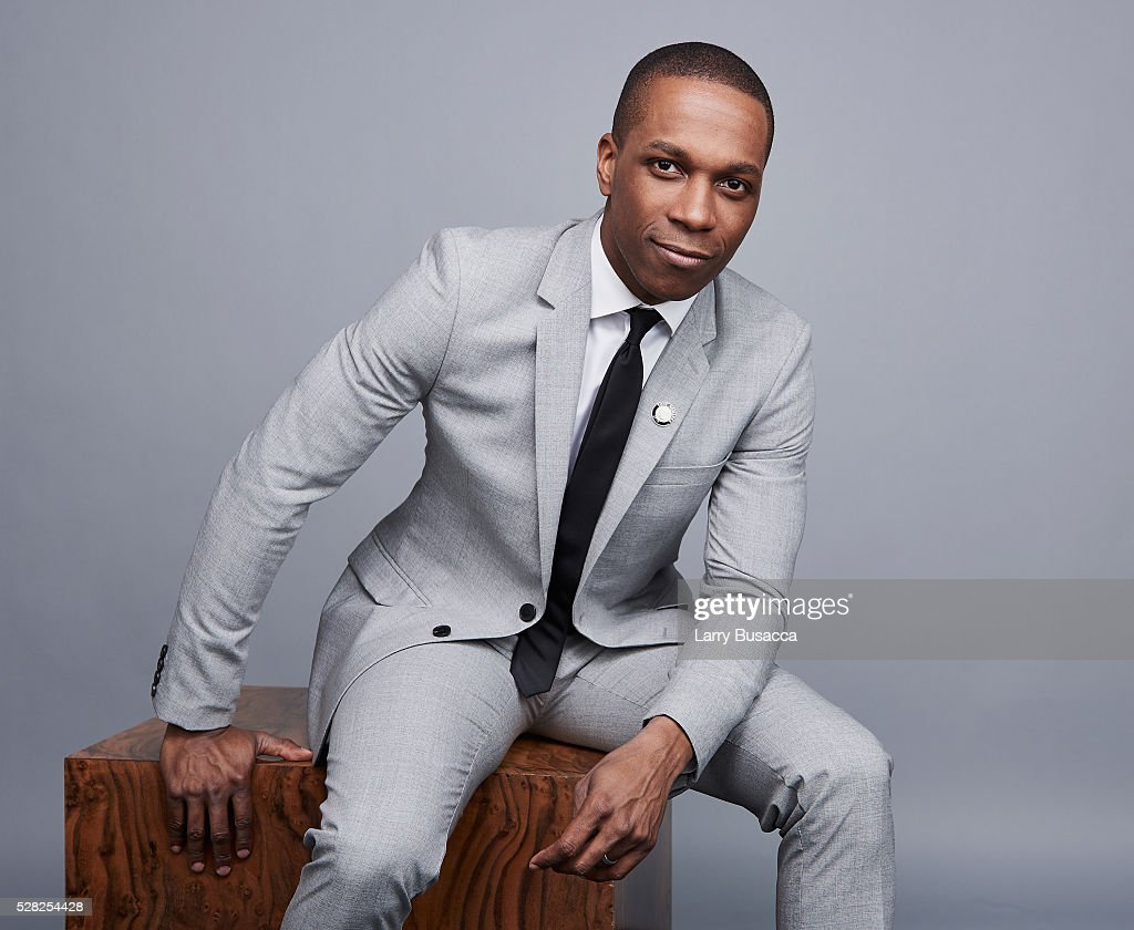 Actor Leslie Odom Jr. poses for a portrait at the 2016 Tony Awards Meet The Nominees Press Reception on May 4, 2016 in New York City.