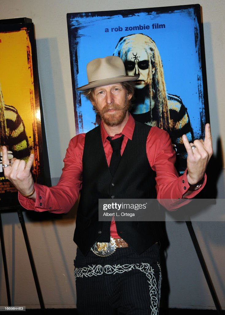 Actor Lew Temple arrives for Fan Screening Of Anchor Bay Films' Rob Zombie's 'The Lords Of Salem' - Arrivalsheld at AMC Burbank 16 on April 18, 2013 in Burbank, California.