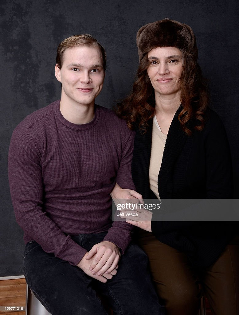 Actor Lex Quarterman (L) and filmmaker Rachel Mayeri pose for a portrait during the 2013 Sundance Film Festival at the WireImage Portrait Studio at Village At The Lift on January 20, 2013 in Park City, Utah.
