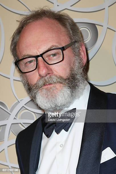 Actor Liam Cunningham arrives at HBO's Official Golden Globe Awards after party at the Circa 55 Restaurant on January 8 2017 in Los Angeles California