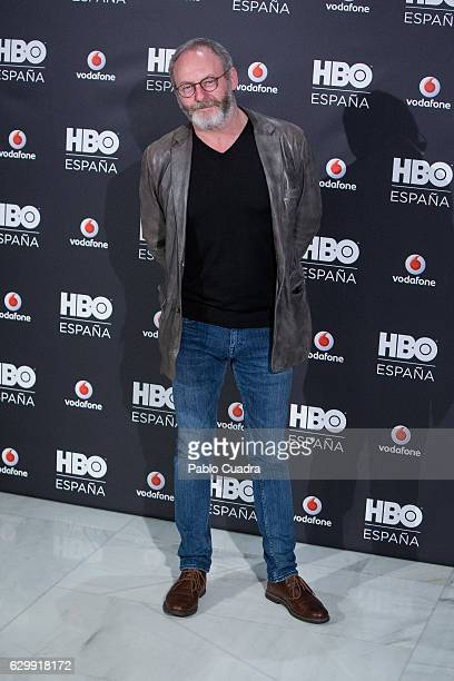 Actor Liam Cunningham attends HBO Spain presentation at Urso Hotel on December 15 2016 in Madrid Spain