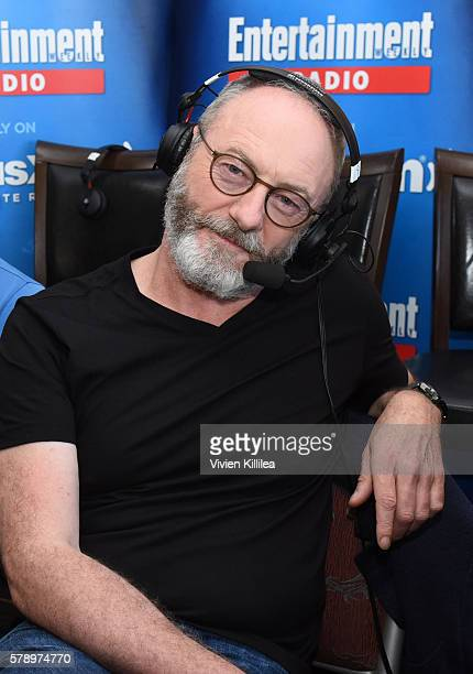 Actor Liam Cunningham attends SiriusXM's Entertainment Weekly Radio Channel Broadcasts From ComicCon 2016 at Hard Rock Hotel San Diego on July 22...