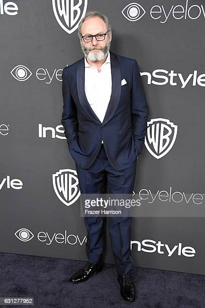 Actor Liam Cunningham attends the 18th Annual PostGolden Globes Party hosted by Warner Bros Pictures and InStyle at The Beverly Hilton Hotel on...