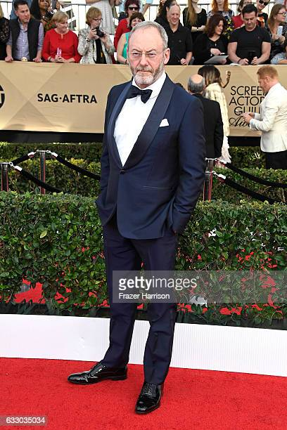 Actor Liam Cunningham attends The 23rd Annual Screen Actors Guild Awards at The Shrine Auditorium on January 29 2017 in Los Angeles California...
