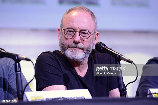 Actor Liam Cunningham attends the 'Game Of Thrones' panel during ComicCon International 2016 at San Diego Convention Center on July 22 2016 in San...