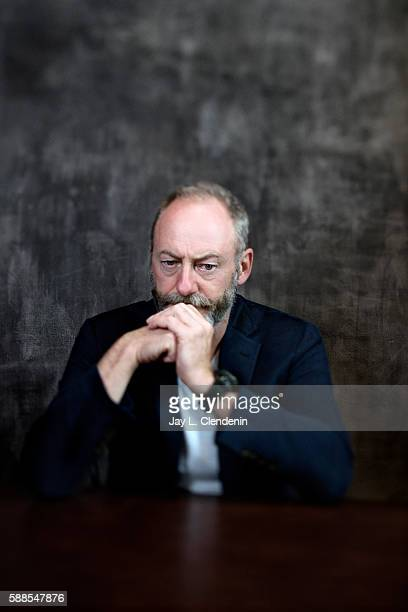 Actor Liam Cunningham of HBO's 'Game of Thrones' is photographed for Los Angeles Times at San Diego Comic Con on July 22 2016 in San Diego California