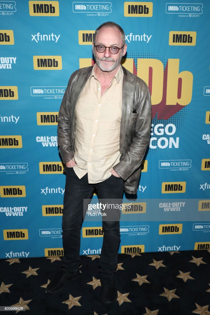Actor Liam Cunningham on the #IMDboat at San Diego Comic-Con 2017 at The IMDb Yacht on July 22, 2017 in San Diego, California.