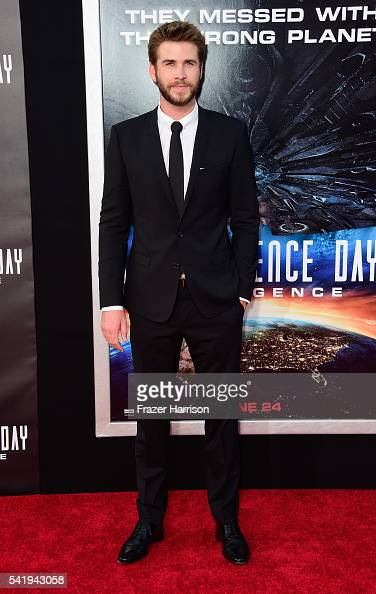 Actor Liam Hemsworth arrives at the Screening of 20th Century Fox's 'Independence Day Resurgence'at TCL Chinese Theatre on June 20 2016 in Hollywood...