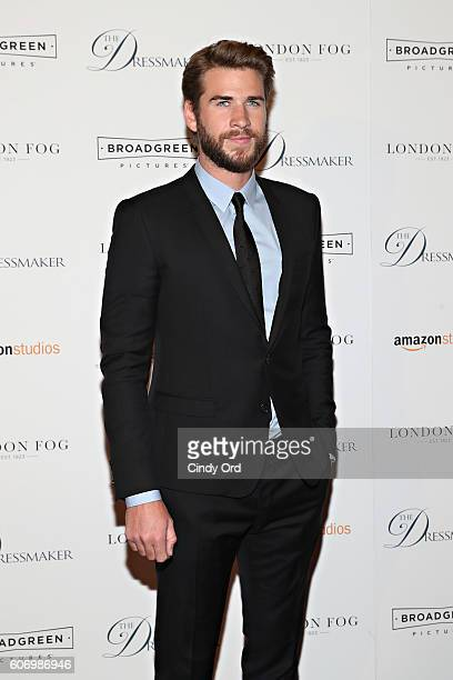 Actor Liam Hemsworth attends as London Fog presents a New York special screening of 'The Dressmaker' on September 16 2016 in New York City