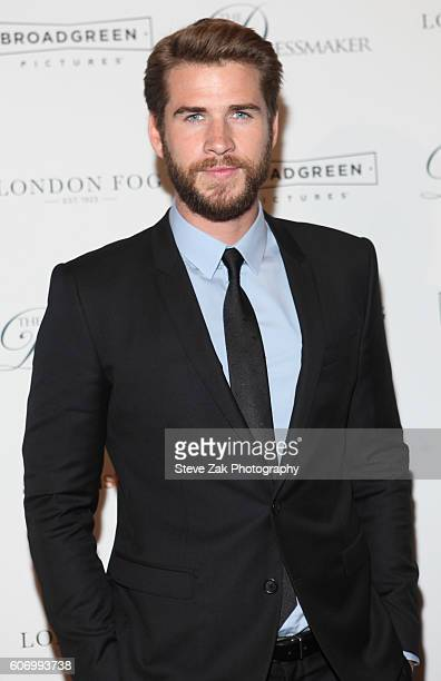 Actor Liam Hemsworth attends 'The Dressmaker' New York Screening at Florence Gould Hall Theater on September 16 2016 in New York City