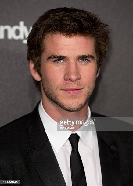 Actor Liam Hemsworth attends 'The Hunger Games Mockingjay Part 1' party at the 67th Annual Cannes Film Festival on May 17 2014 in Cannes France