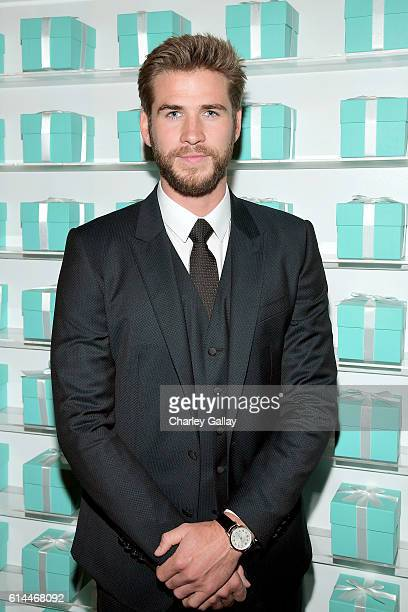 Actor Liam Hemsworth attends Tiffany Co's unveiling of the newly renovated Beverly Hills store and debut of 2016 Tiffany masterpieces at Tiffany Co...