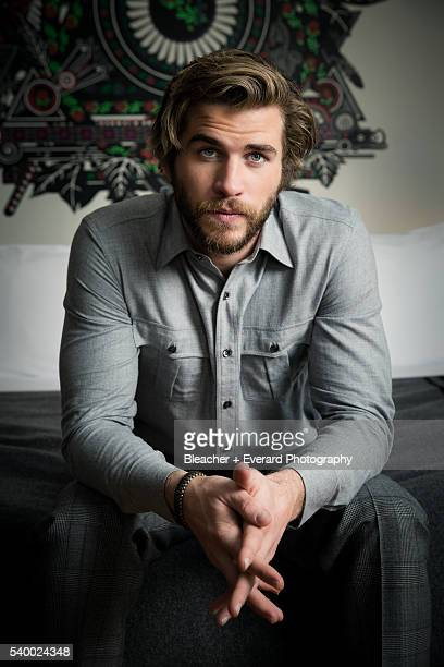 Actor Liam Hemsworth is photographed for Esquire Middle East on November 14 2014 in New York City Styling Kate Hazell Grooming Kate Goodwin Shirt by...
