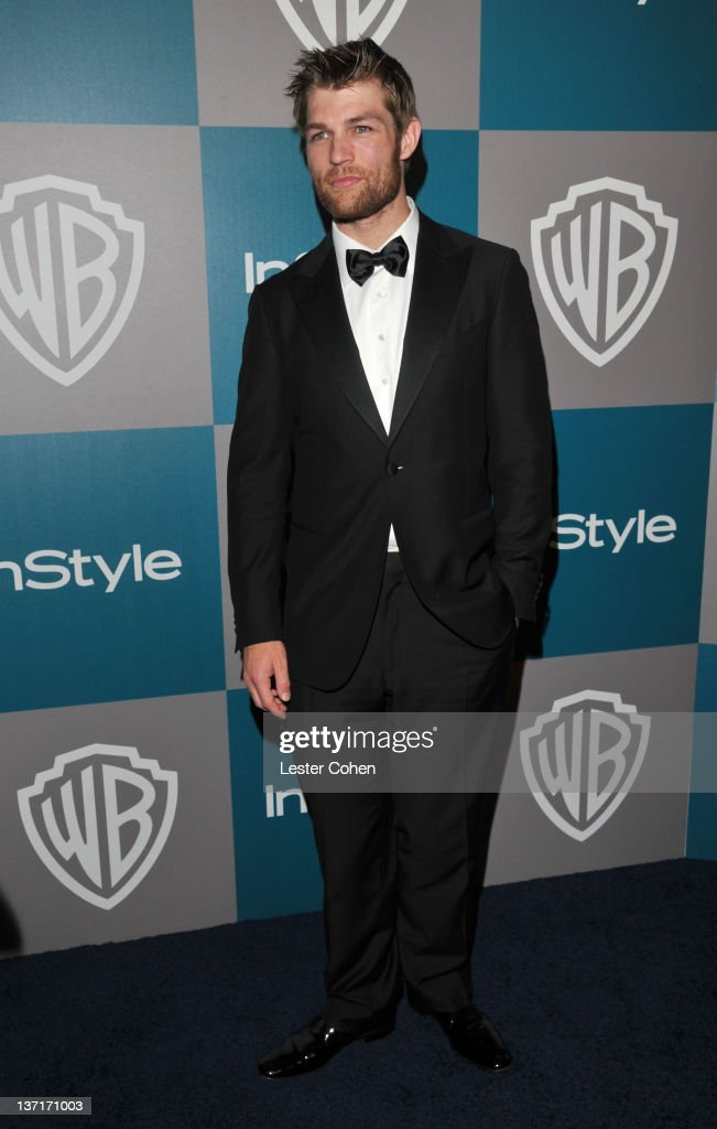 Actor Liam McIntyre arrives at the 13th Annual Warner Bros. and InStyle Golden Globe After Party held at The Beverly Hilton hotel on January 15, 2012 in Beverly Hills, California.