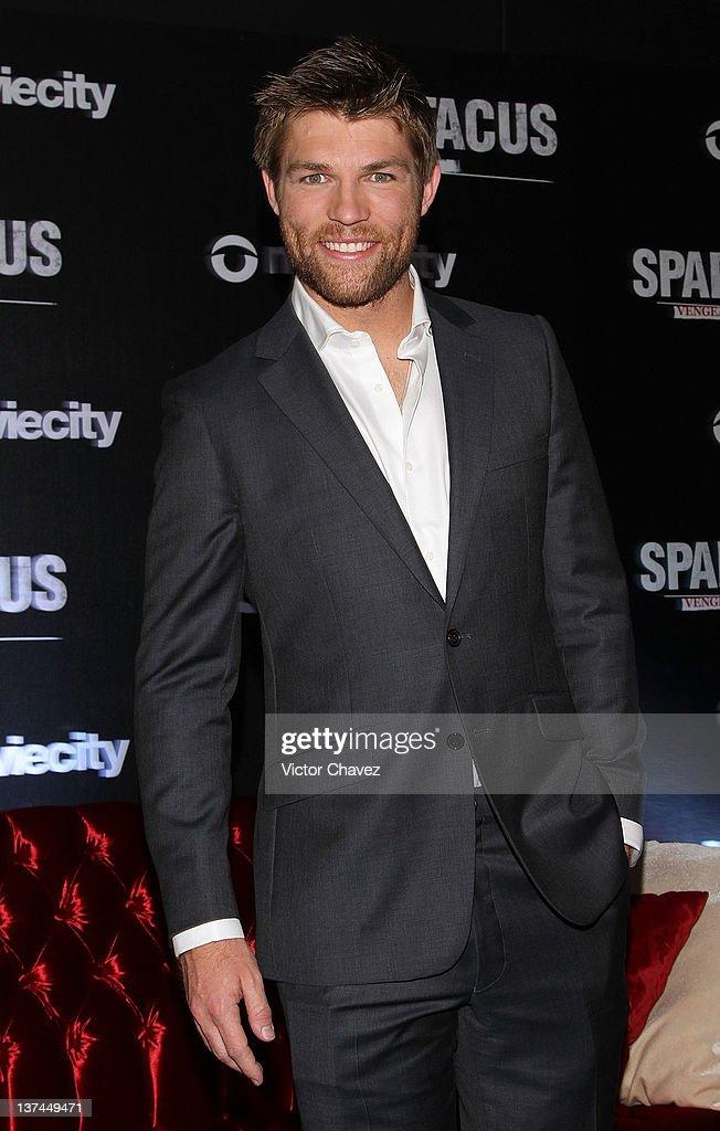 """Spartacus: Vengeance"" Press Conference"