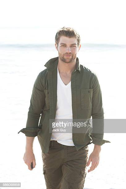 Actor Liam McIntyre is photographed on January 12, 2012 in Los Angeles, California.