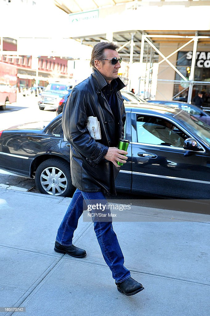 Actor <a gi-track='captionPersonalityLinkClicked' href=/galleries/search?phrase=Liam+Neeson&family=editorial&specificpeople=202030 ng-click='$event.stopPropagation()'>Liam Neeson</a> as seen on March 5, 2013 in New York City.