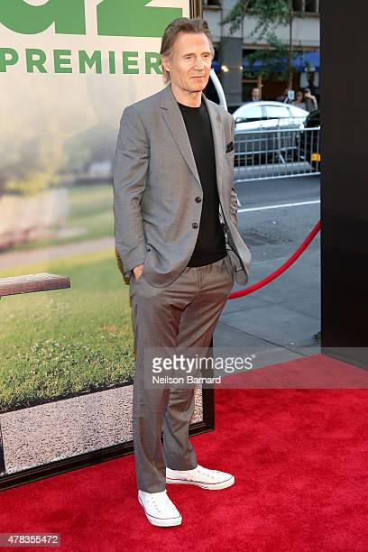 Actor Liam Neeson attends the New York Premiere of 'Ted 2' at the Ziegfeld Theater on June 24 2015 in New York City