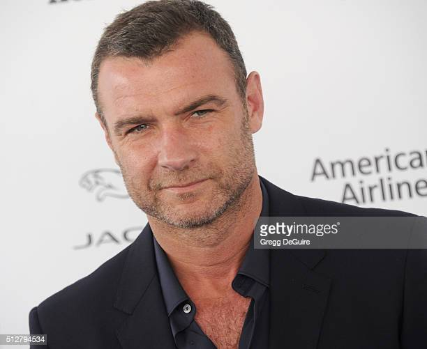 Actor Liev Schreiber arrives at the 2016 Film Independent Spirit Awards on February 27 2016 in Santa Monica California