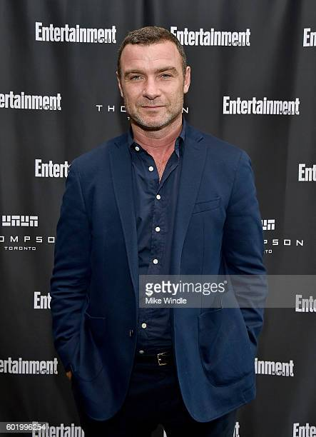 Actor Liev Schreiber attends Entertainment Weekly's Toronto Must List party at the Thompson Hotel on September 10 2016 in Toronto Canada