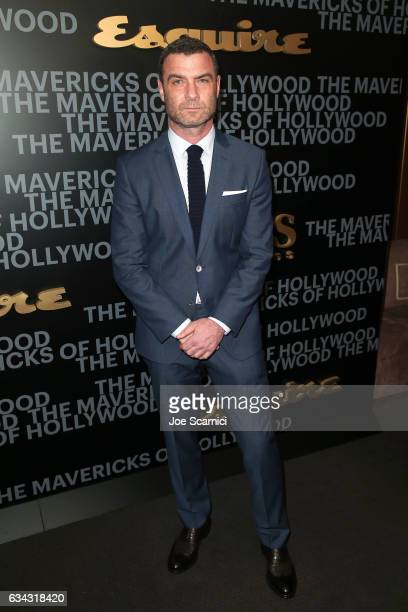 Actor Liev Schreiber attends Esquire's celebration of March cover star James Corden and the Mavericks of Hollywood presented by Hugo Boss at Sunset...