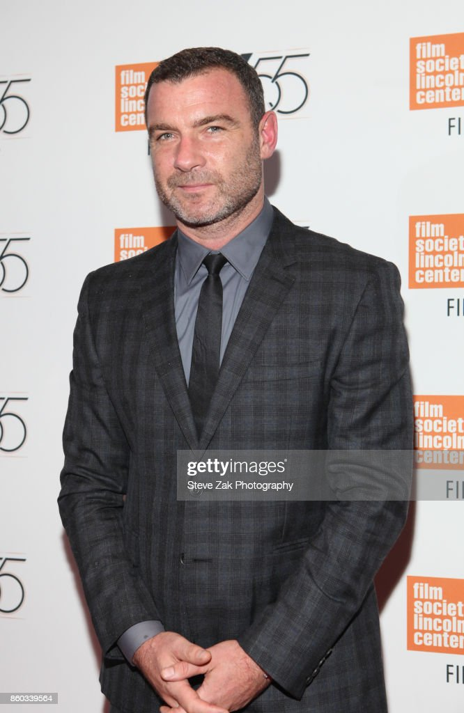 Actor Liev Schreiber attends 'Joan Didion: The Center Will Not Hold' during the 55th New York Film Festival at Alice Tully Hall on October 11, 2017 in New York City.