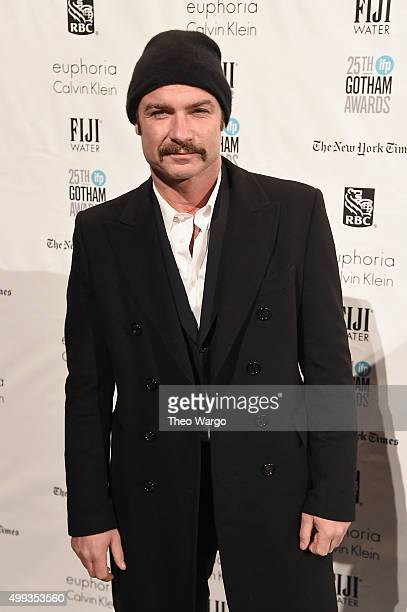 Actor Liev Schreiber attends the 25th Annual Gotham Independent Film Awards at Cipriani Wall Street on November 30 2015 in New York City