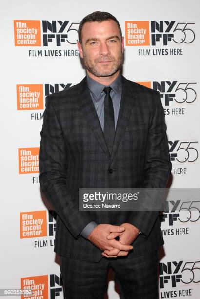 Actor Liev Schreiber attends the 55th New York Film Festival 'Joan Didion The Center Will Not Hold' at Alice Tully Hall on October 11 2017 in New...