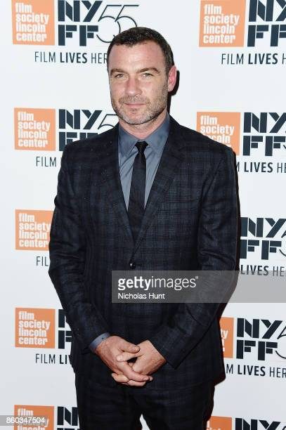 Actor Liev Schreiber attends the 55th New York Film Festival presentation of 'Joan Didion The Center Will Not Hold' at Alice Tully Hall on October 11...