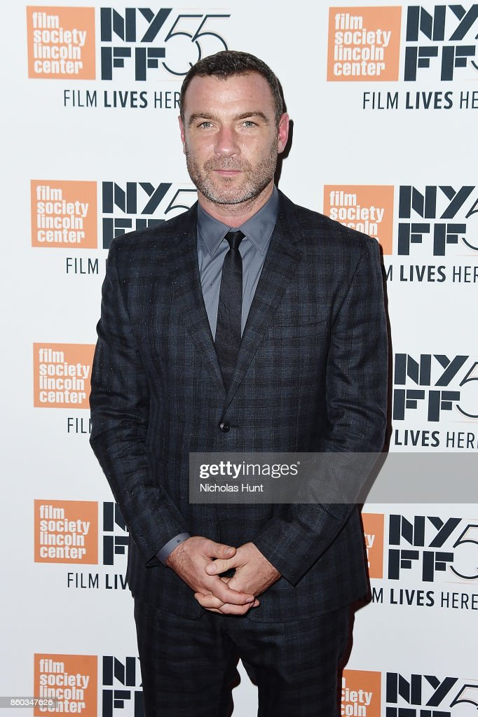 Actor Liev Schreiber attends the 55th New York Film Festival presentation of - 'Joan Didion: The Center Will Not Hold' at Alice Tully Hall on October 11, 2017 in New York City.