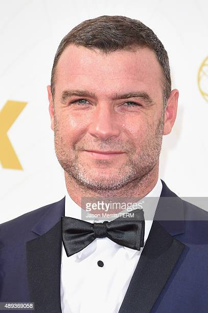 Actor Liev Schreiber attends the 67th Annual Primetime Emmy Awards at Microsoft Theater on September 20 2015 in Los Angeles California