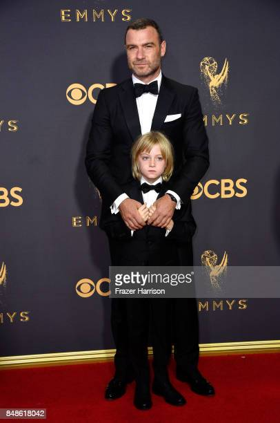 Actor Liev Schreiber attends the 69th Annual Primetime Emmy Awards at Microsoft Theater on September 17 2017 in Los Angeles California