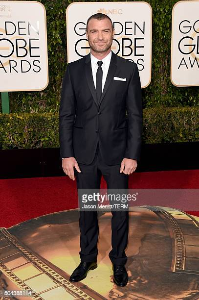 Actor Liev Schreiber attends the 73rd Annual Golden Globe Awards held at the Beverly Hilton Hotel on January 10 2016 in Beverly Hills California