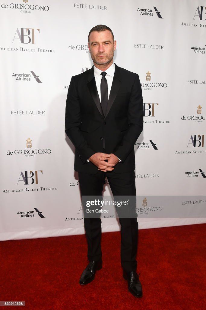 Actor Liev Schreiber attends the American Ballet Theatre Fall Gala at David H. Koch Theater at Lincoln Center on October 18, 2017 in New York City.